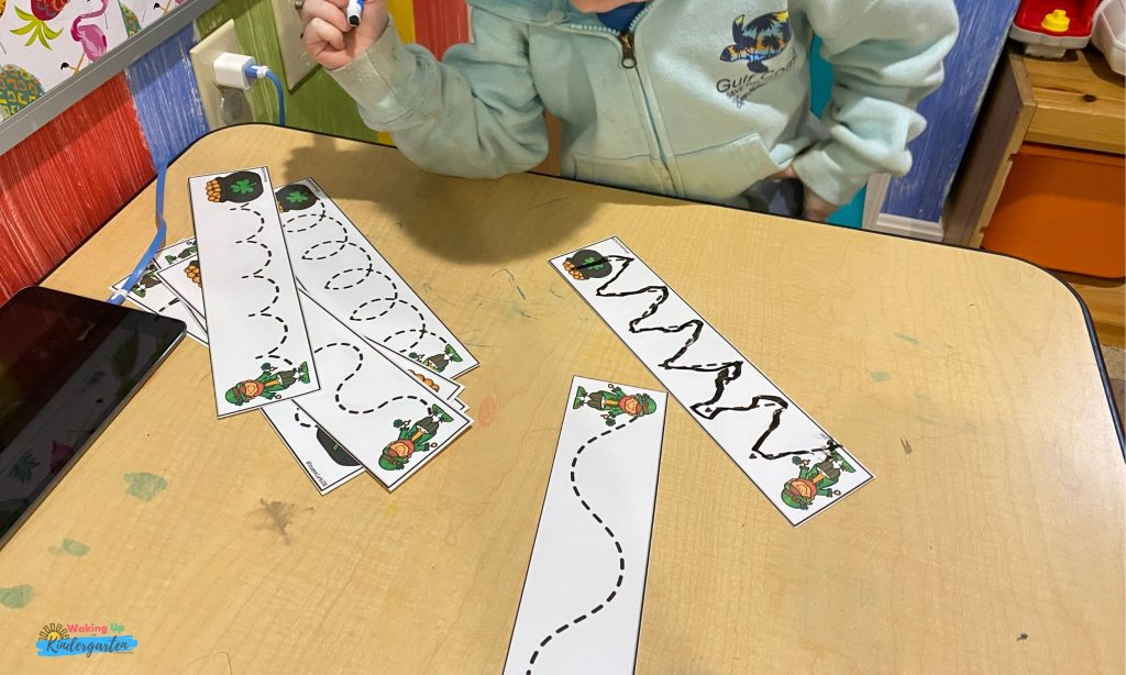 St. Patrick's Day Fine Motor Tracing