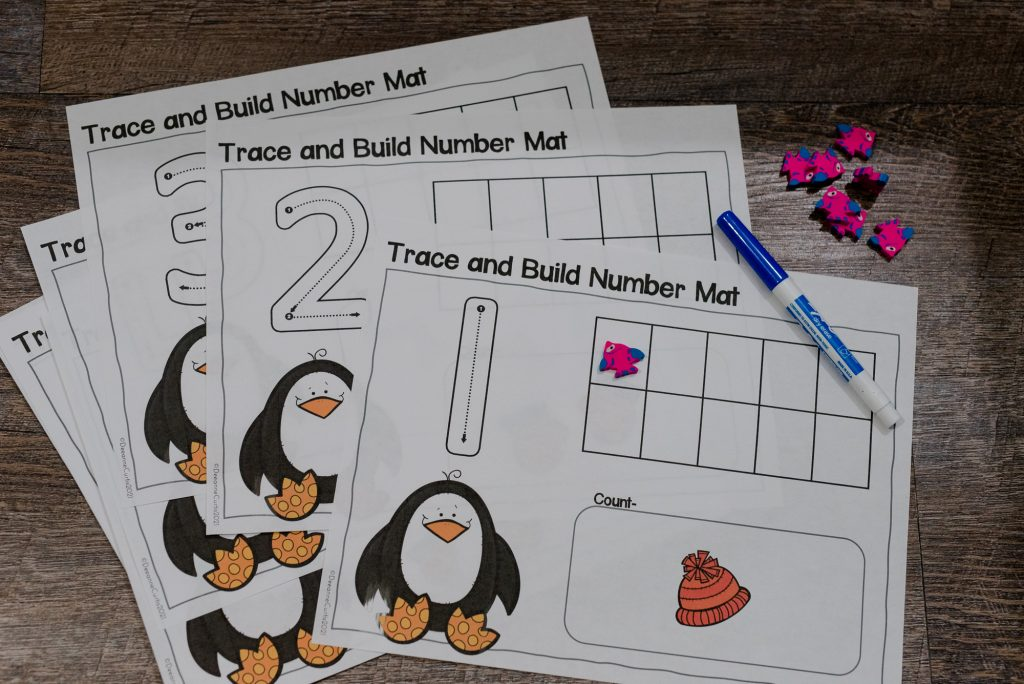 trace & build number mats
