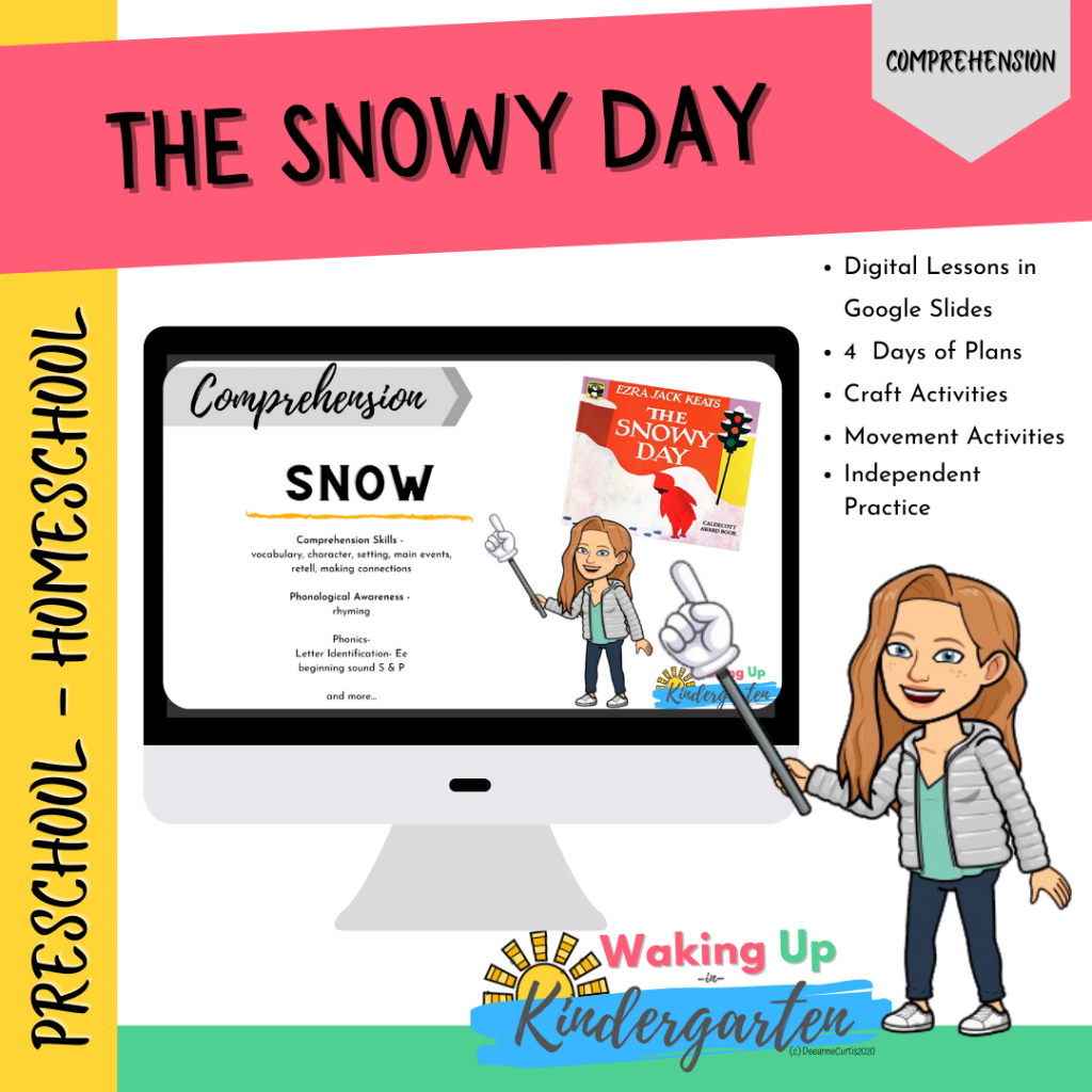 The Snowy Day-Comprehension Unit